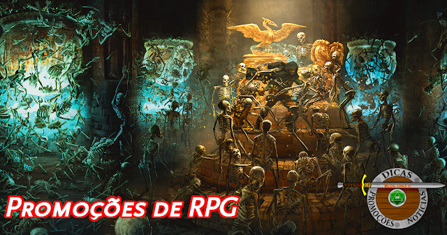 Promoções Livros de RPG
