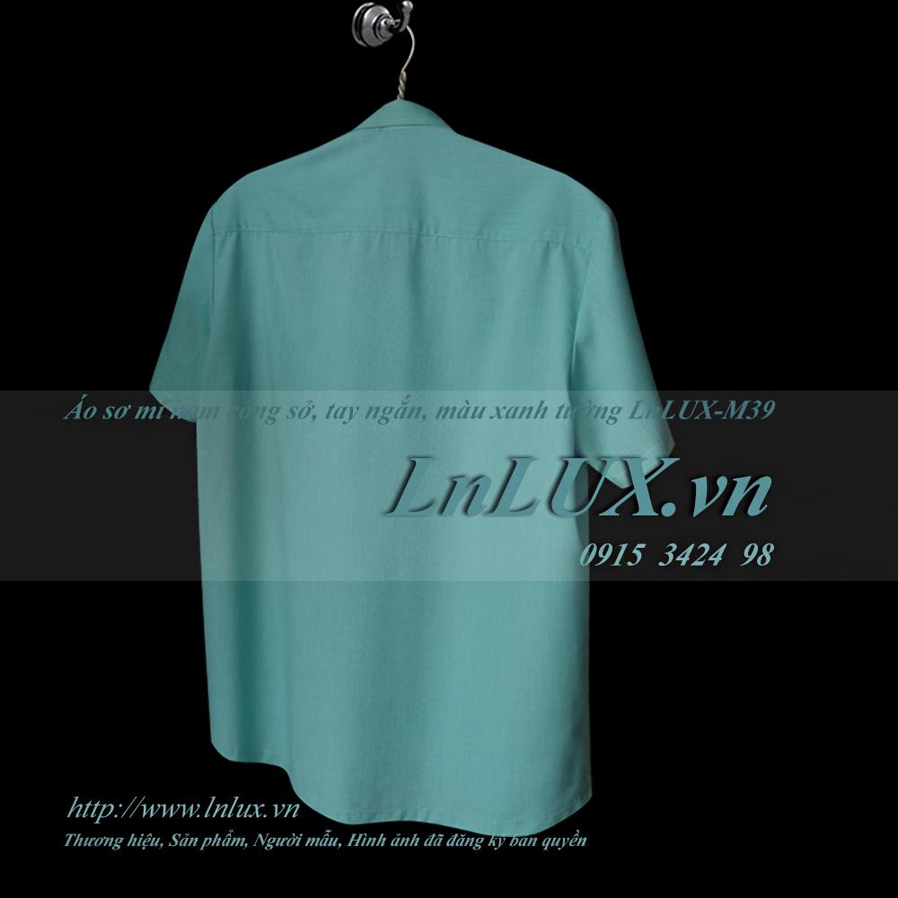 lnlux.vn-ao-so-mi-nam-cong-so-tay-ngan-mau-xanh-tuong-lnlux-m39-sau