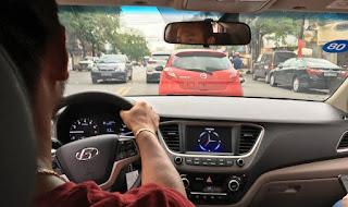 Nội thất đẹp Hyundai Accent 2018