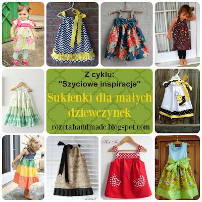 sukienka dla dziewczynki, easy dress for girls,
