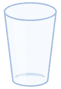 水のイラスト(空)