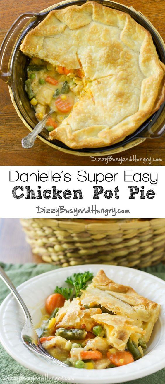 Danielle's Super Easy Chicken Pot Pie