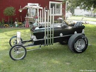 auto antiguo inusual