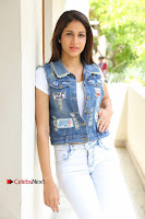 Telugu Actress Lavanya Tripathi Latest Pos in Denim Jeans and Jacket  0048.JPG