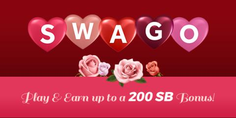 Image: SWAGO is a bingo-inspired promotion run by Swagbucks, a website that rewards you with points (called SB) for completing everyday online activities