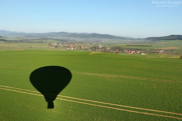 Lot balonem - relacja, reportaż, wrażenia, fotoreportaż, zdjęcia Aleksandra Strzelecka