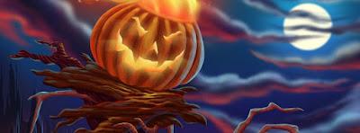 Couverture facebook pour déguisement Halloween 2016