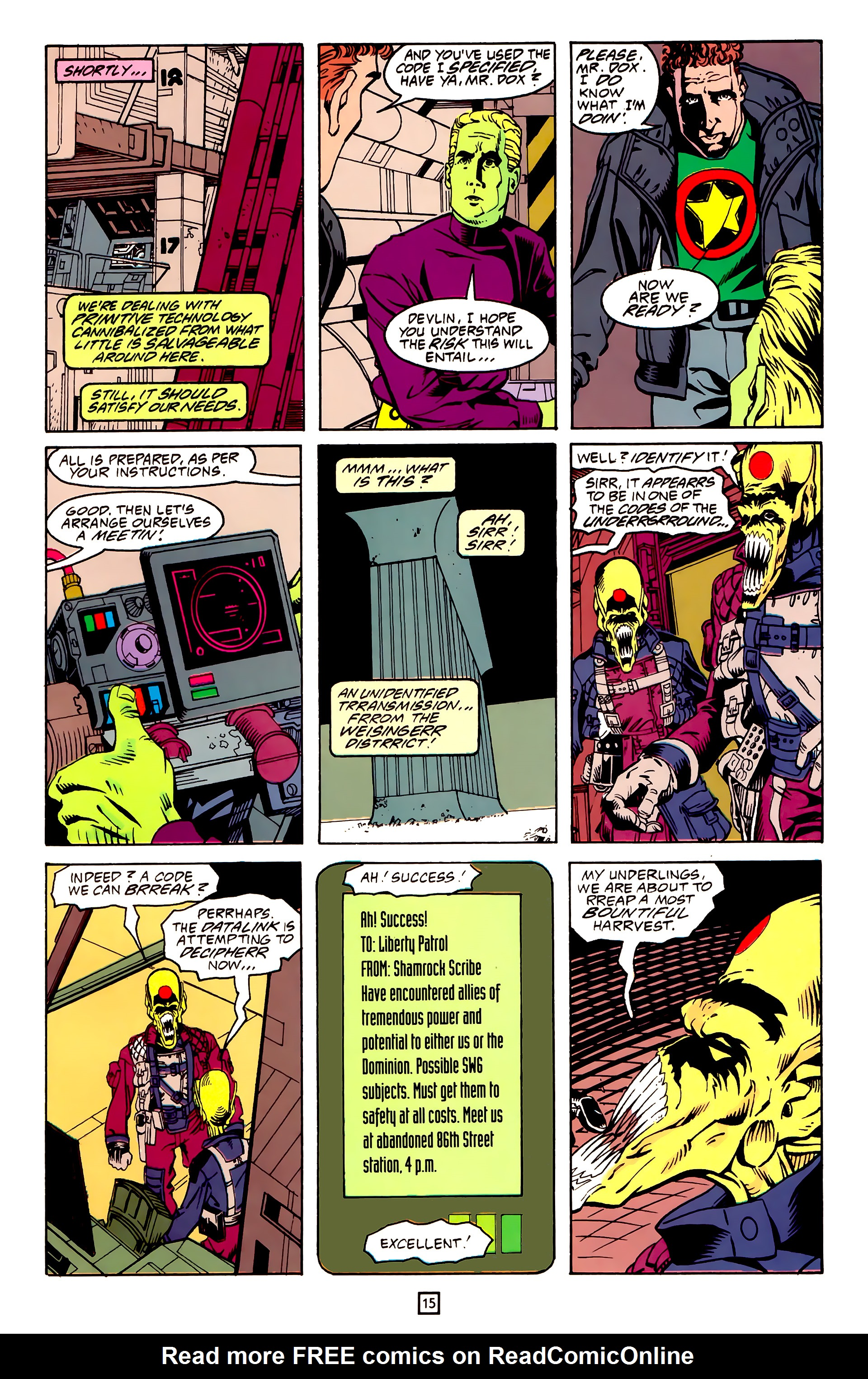 Legion of Super-Heroes (1989) 25 Page 15