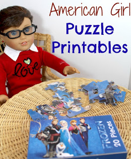 Free American Girl doll printables