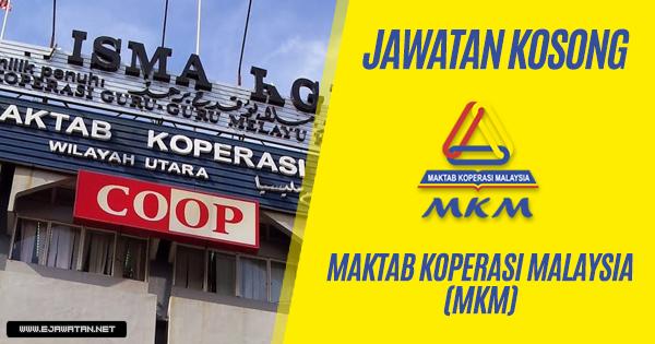 jawatan kosong Maktab Koperasi Malaysia (MKM) 2018