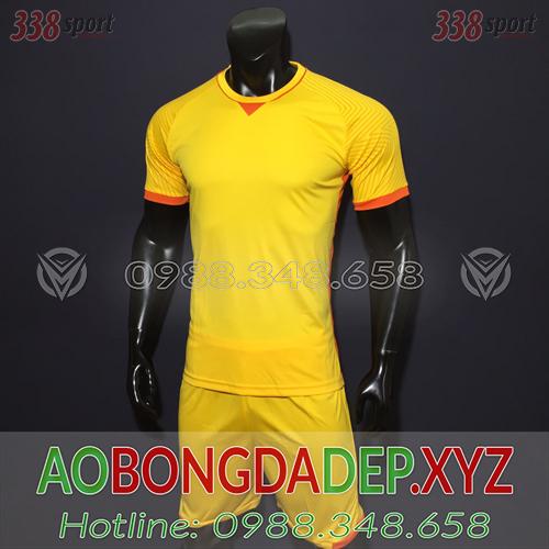 Áo Ko Logo U23 Việt Nam 2018 Màu Vàng Đẹp