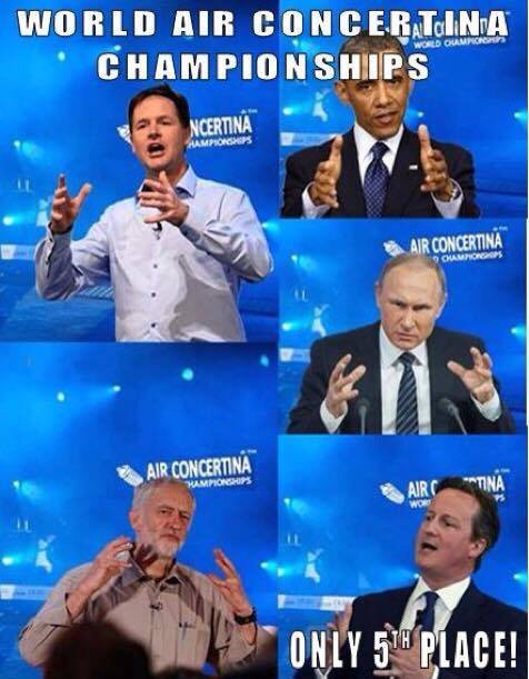 Funny World Concertina Championships Joke Picture