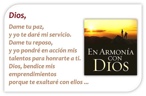 Oración del Día de Hoy Sábado - Que Todo lo que Hagas le dé Gloria a Dios; y El estará Contigo!