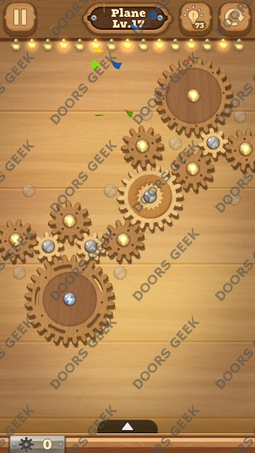 Fix it: Gear Puzzle [Plane] Level 17 Solution, Cheats, Walkthrough for Android, iPhone, iPad and iPod