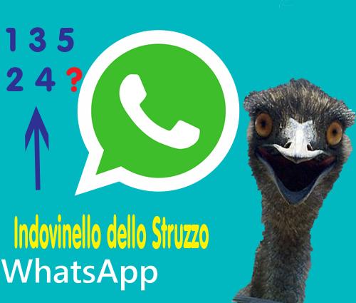 Indovinello whatsapp dello struzzo ecco la soluzione per for Immagini divertenti gratis per whatsapp