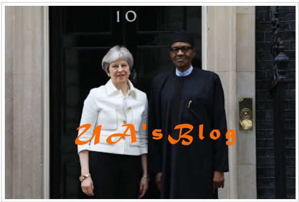Politicians focus on elections, I'm bothered about security, economy, Buhari tells British PM, May