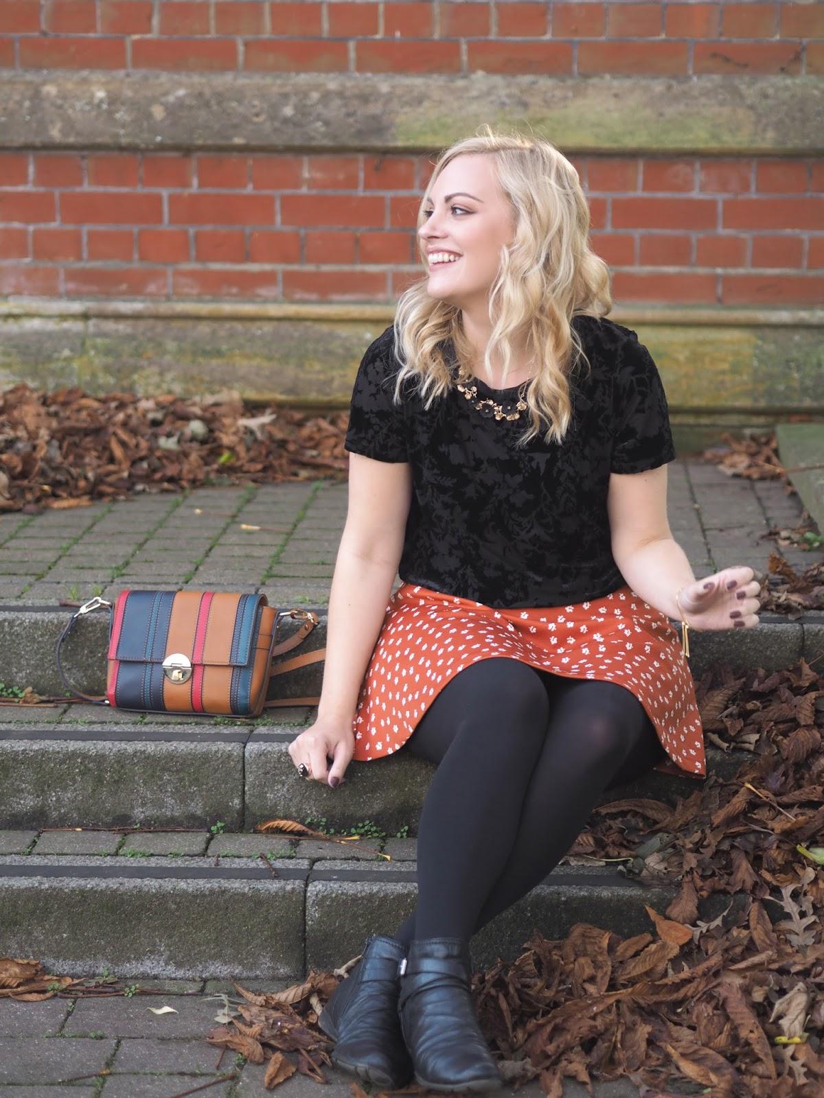 Autumn Oranges & Pumpkin Picking, Katie Kirk Loves, UK Blogger, Fashion Blogger, Oasis Fashion, Autumn Style, Autumn Outfit Ideas, Autumn Fashion, Asos, Boohoo, Yumi, Next, Accessorize, Style Blogger, Fashion Influencer, Style Influencer, Fashion Discount Code