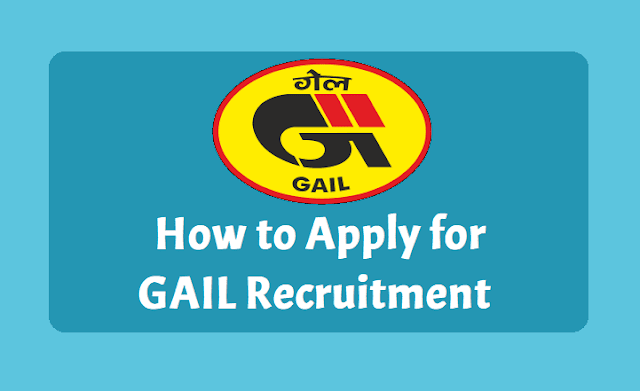 How to apply for GAIL Recruitment