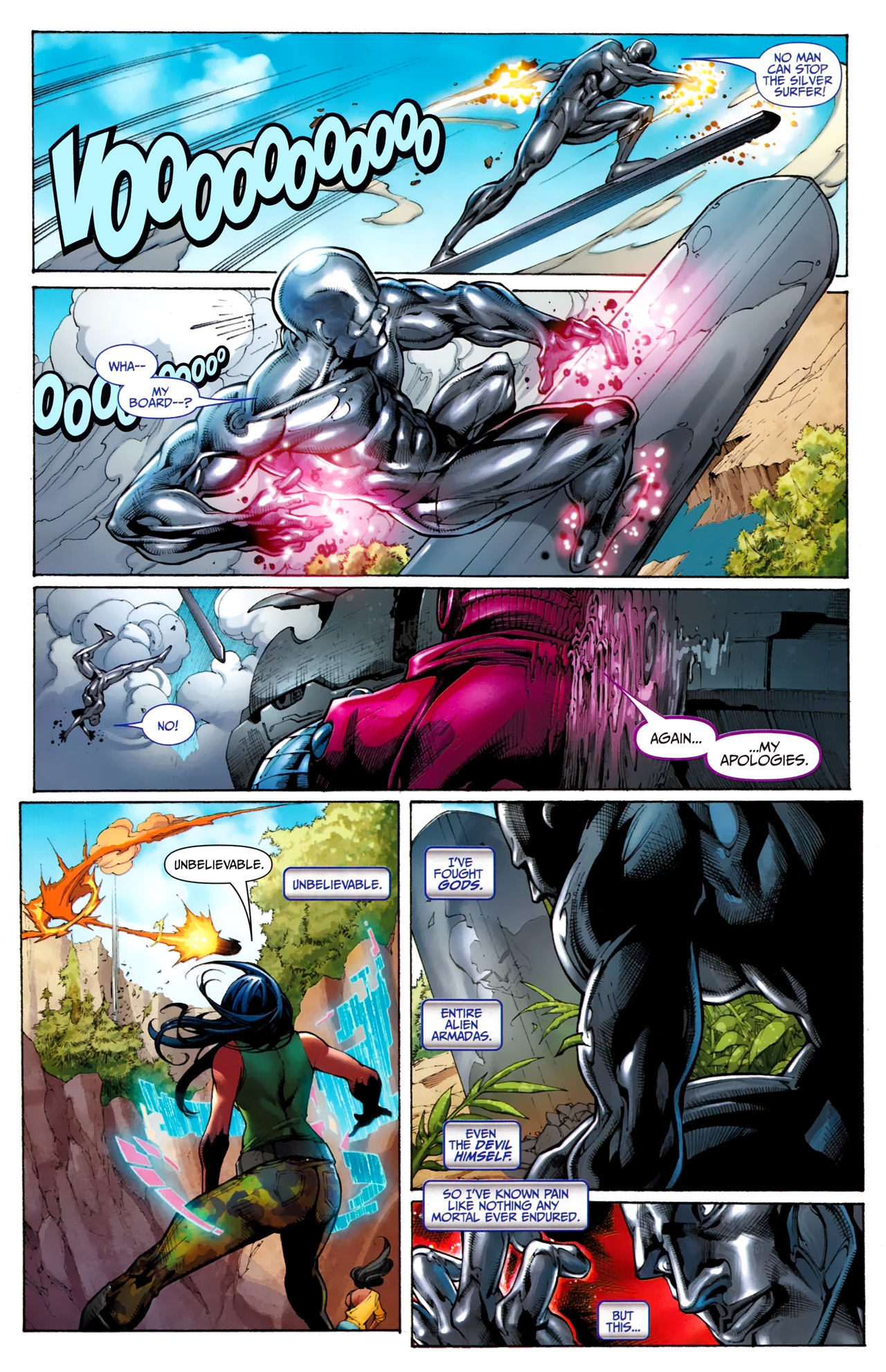 Read online Silver Surfer (2011) comic -  Issue #1 - 21