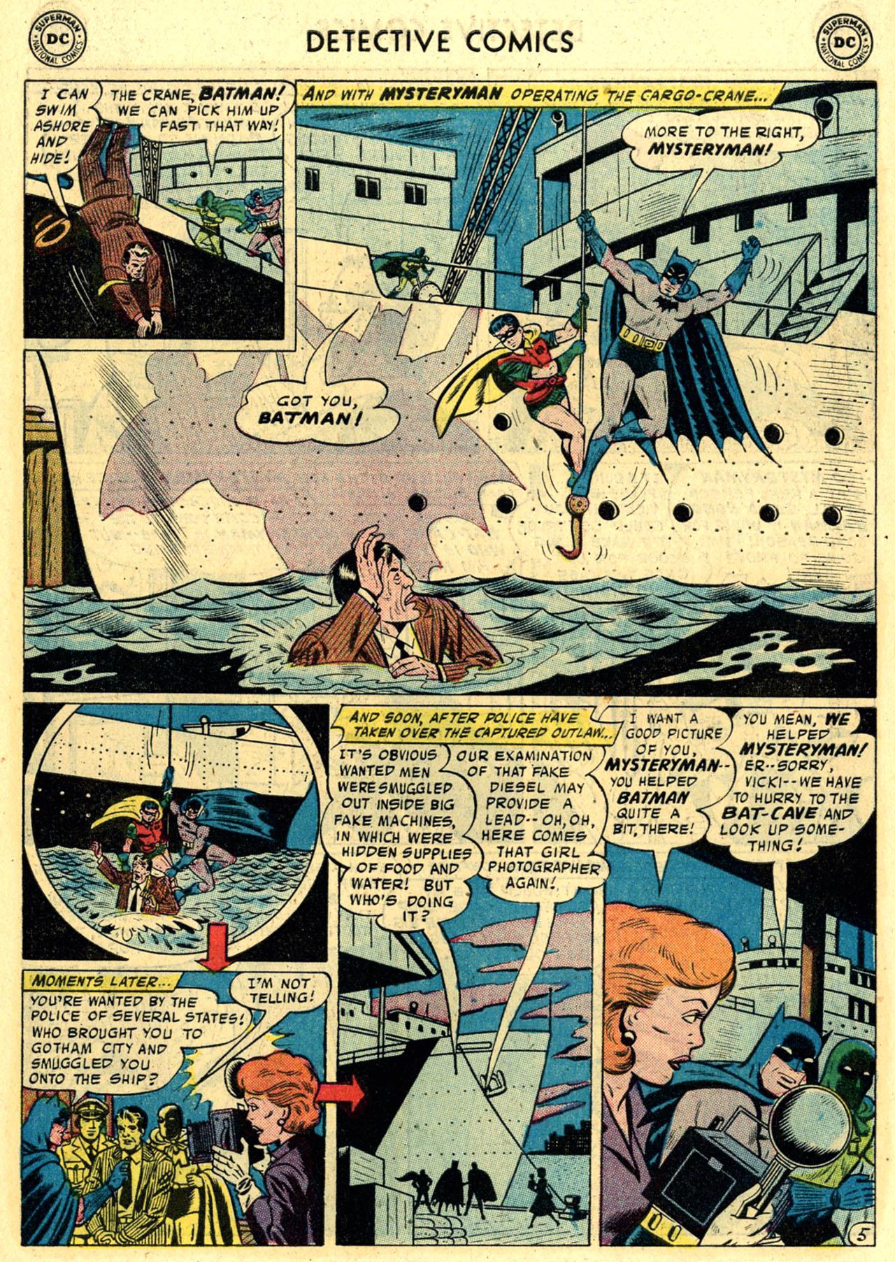 Read online Detective Comics (1937) comic -  Issue #245 - 7