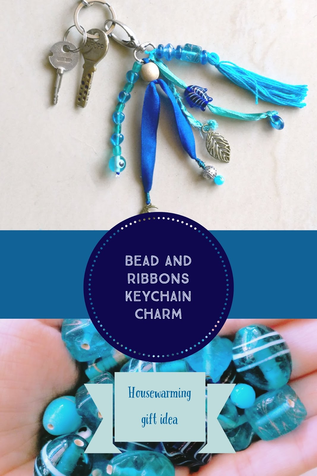This cute keychain charm makes for a perfect housewarming gift on a budget