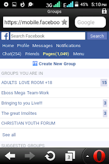 Facebook group massive members