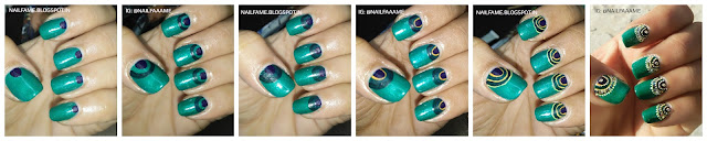 HALF MOON NAILART PICTURE TUTORIAL