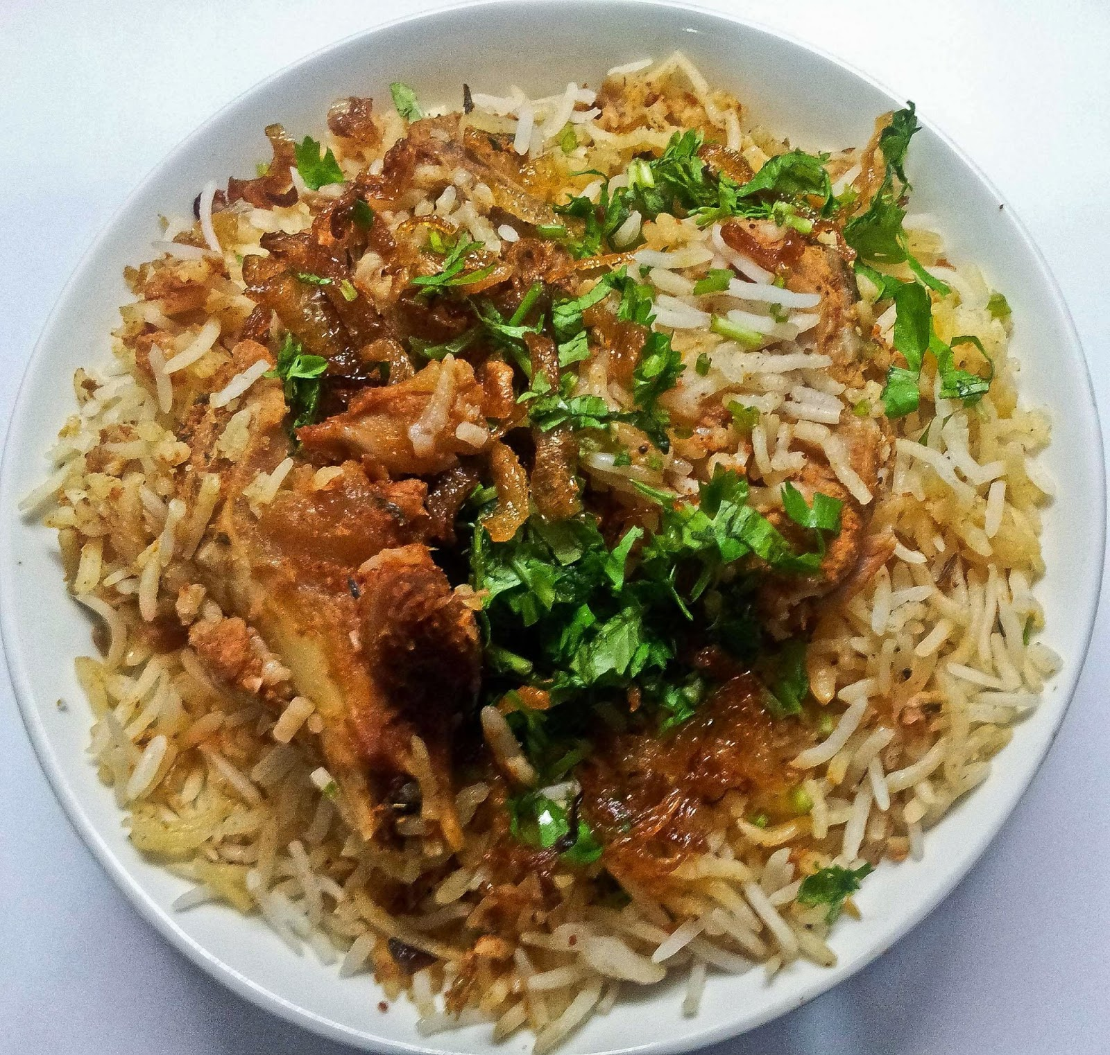 Foodaholix Green Park Midnight Biryani Mutton Biryani