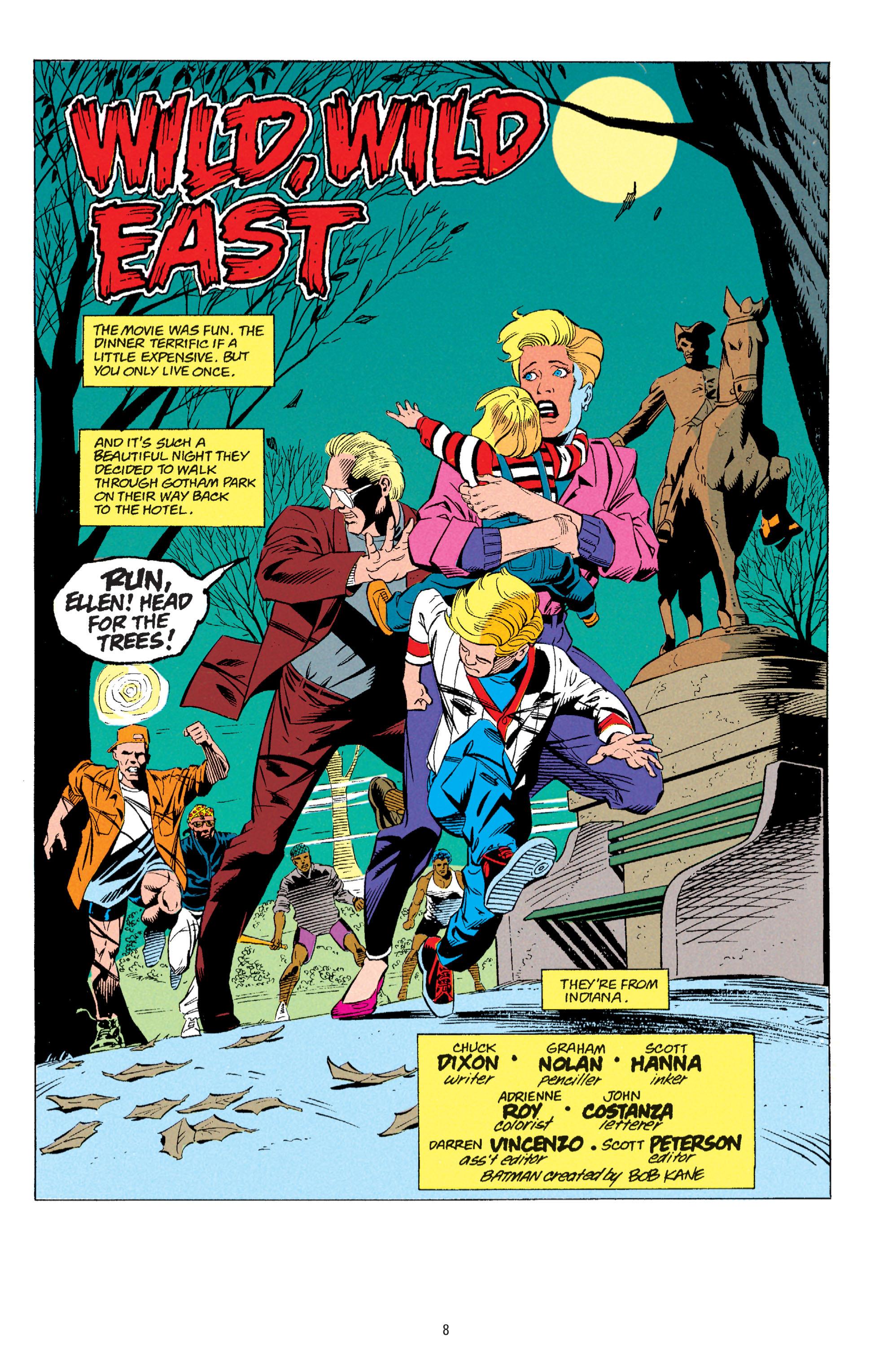 Detective Comics (1937) 667 Page 1