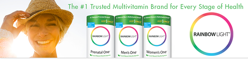 10% скидка на витамины Rainbow Light