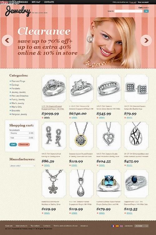 thiết kế website bán hàng nhẫn cưới giá rẻ