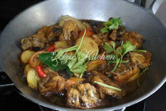 Ayam Masak Kicap Mudah