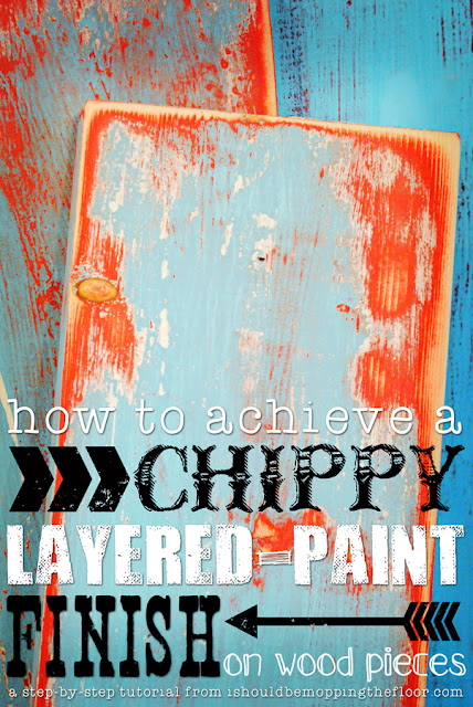 Two step-by-step methods for creating this layered paint look are in this post. Detailed photos make these easy tutorials to follow along and achieve the perfect finish.