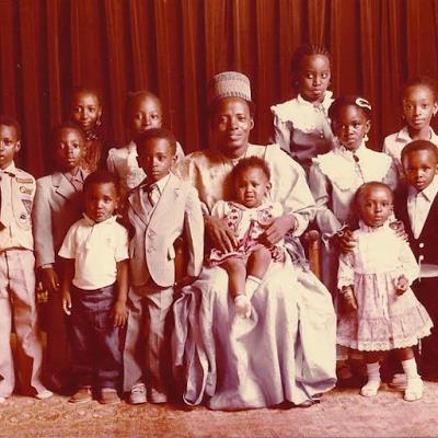 See Throwback Photo of Shehu Shagari and Family in 1983