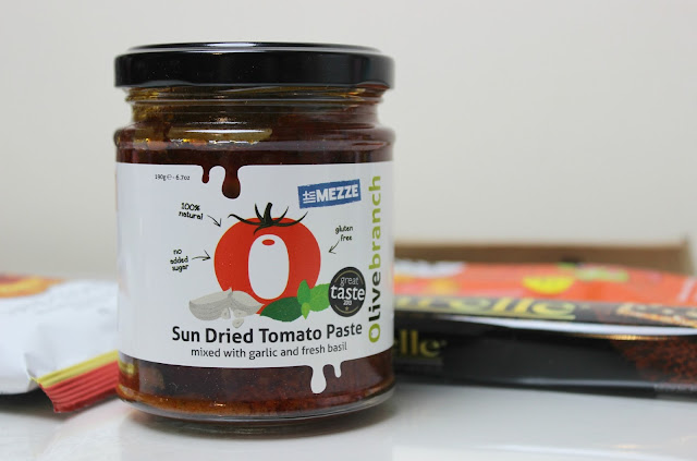 A picture of Olive Branch Mezze Sun Dried Tomato Paste