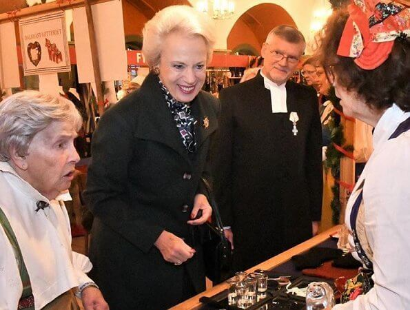 Princess Benedikte of Denmark opened Swedish Gustaf's Church (Svenska Gustafskyrkan) Christmas Bazaar