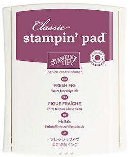Take a look at Stampin' Up!'s Fresh Fig Classic Stampin' Pad