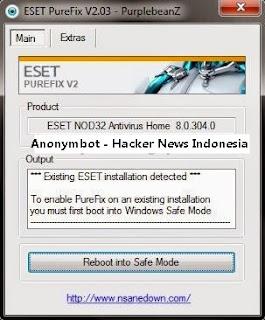 PureFIX Eset Antivirus