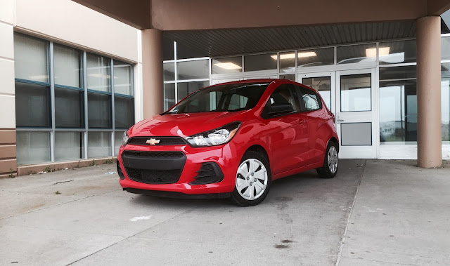 2016 Chevrolet Spark LS Salsa Red