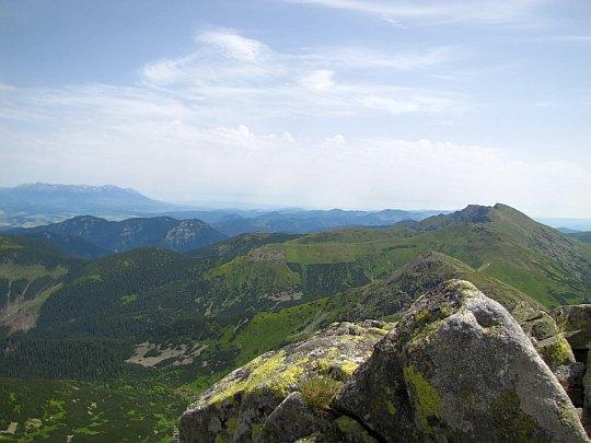 Panorama na wschód.