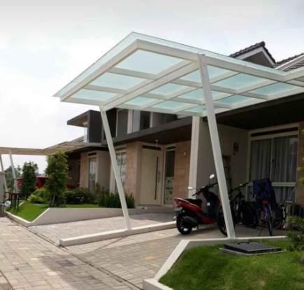 rumah minimalis type 30 Dengan Kanopi Depan