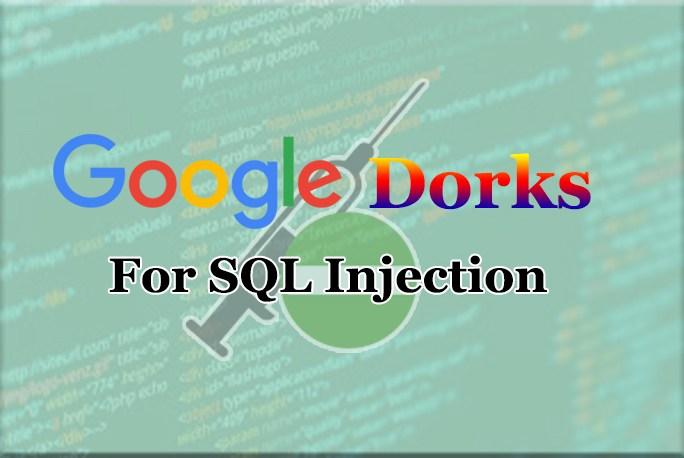 Nova lista do Google Dorks para injeção de SQL - SQL Dorks 2019