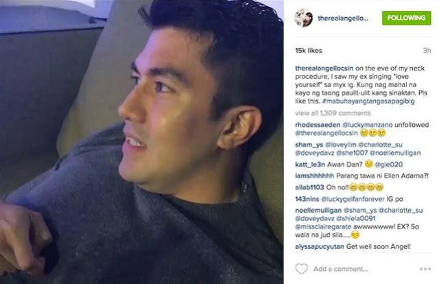 Angel Locsin surprisingly calls Luis Manzano as her ex-boyfriend!