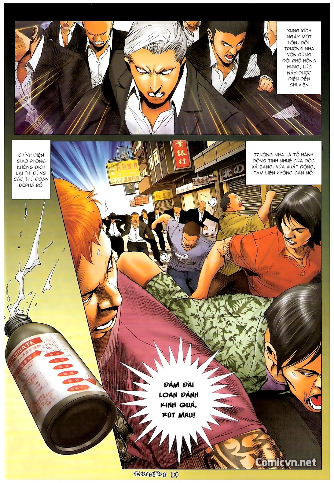 Người Trong Giang Hồ - Chapter 1208: Không nhìn lầm - Pic 9