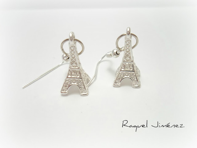 pendientes torre Eiffel