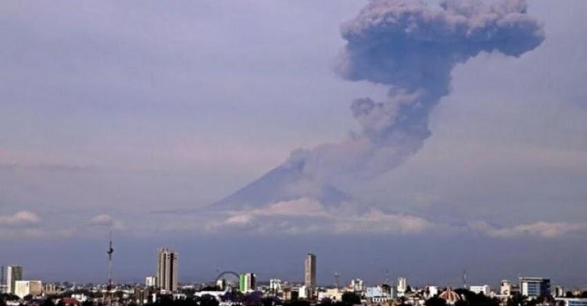 POPOCATÉPETL: Volcán ubicado en el centro de México ha registrado una de sus explosiones más grandes de los últimos años [VIDEO]