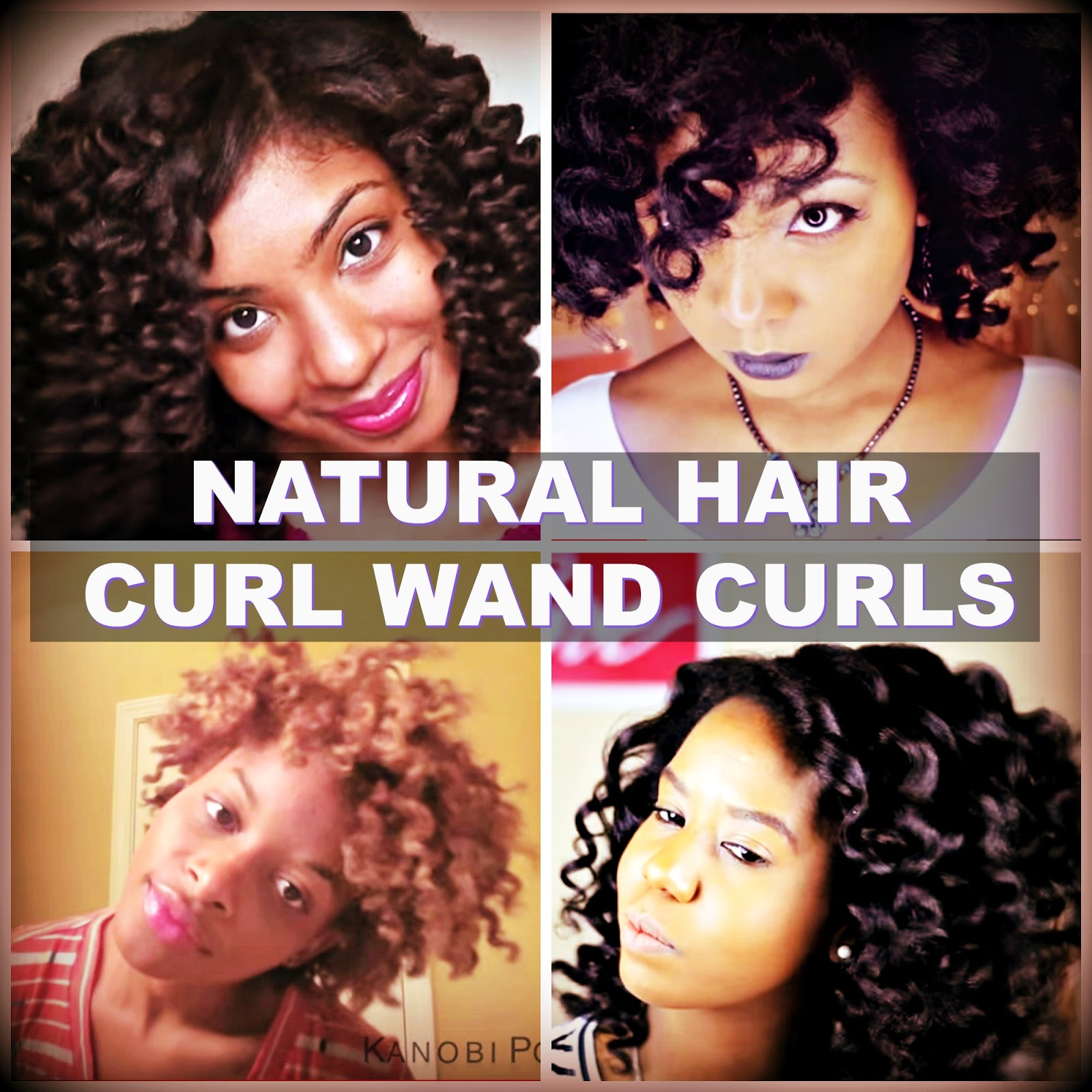 How To Get Perfect Curl Wand Curls On Natural Hair
