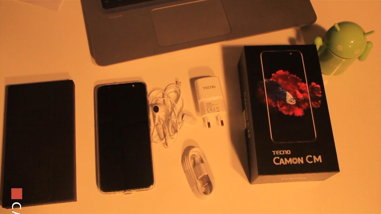 Tecno Camon CM Complete Accessories