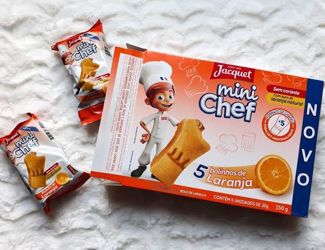 Recebidos Jacquet Mini Chef Bolinho de Laranja