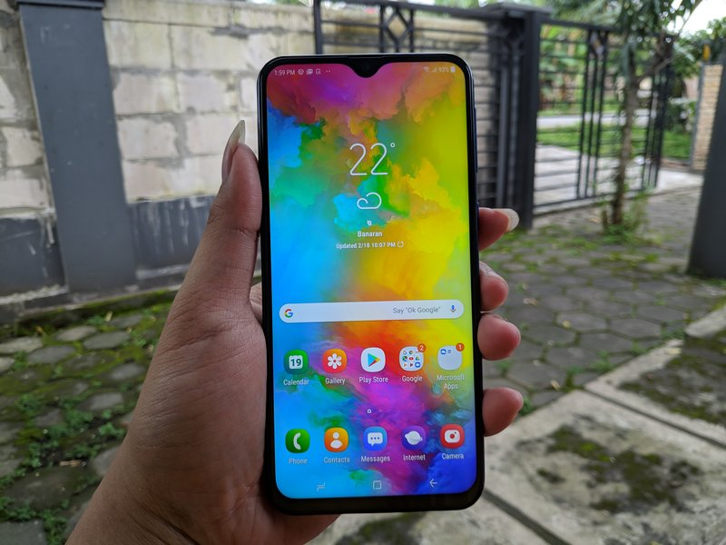Benchmark AnTuTu Samsung Galaxy M20 Bertenaga Exynos 7904